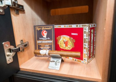Redhead VIP Cigar Club Locker