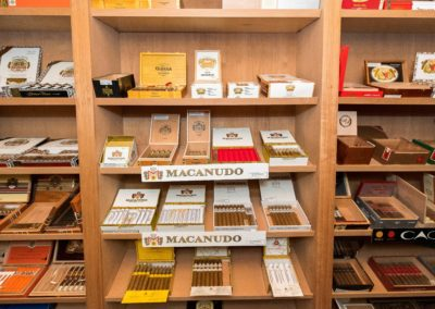 Cigars in the Walk-In Humidor